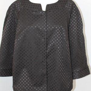 Covington Woman 3/4 Sleeve Jacket/Blazer Sz 16/18W